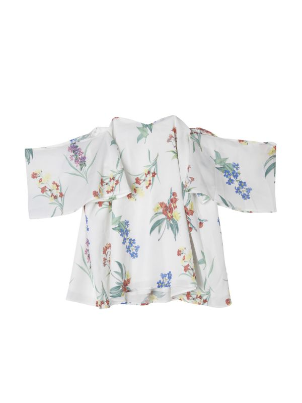 flower off shoulder