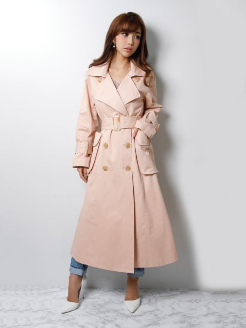 flappocket trench coat