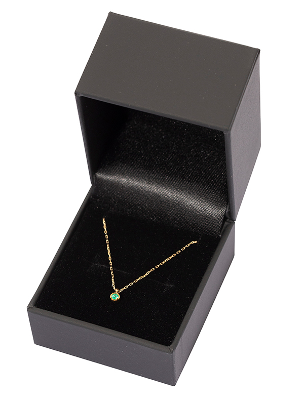 K10  birthstone necklace May