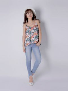 botanical flower camisole